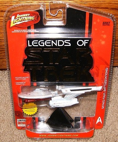 Legends of Star Trek USS Enterprise NCC-1701-A Series Four Starship