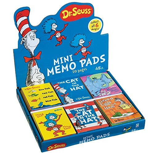 Dr. Seuss Mini Memo Pad, 48 Pack