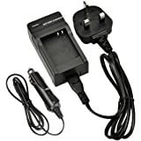 DSTE® DC145U Travel and Car Charger for Panasonic DMW-BCM13E, DMW-BCM13PP Rechargeable Li-ion Battery