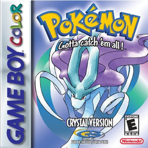 Pokemon Crystal Version - New Save Battery (Renewed) (Game Boy Pokemon Gold)