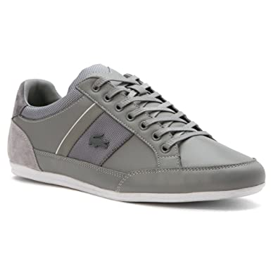 7a5b0ff4e Lacoste Men s Chaymon 116 1 Light Grey Dark Grey 7 ...