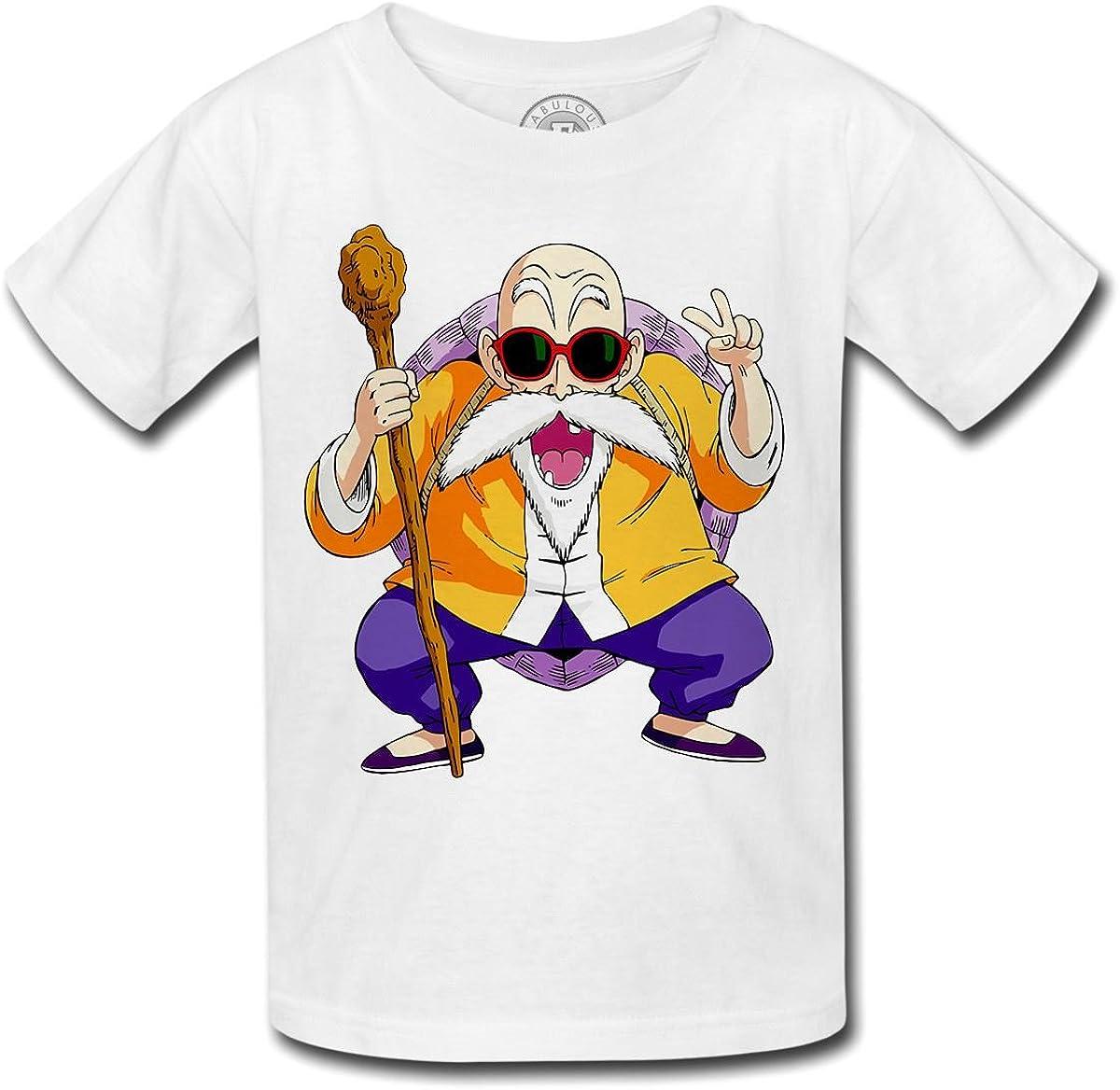 Livraison 15-21 jours Dragon Ball Tee shirt Tortue Génial