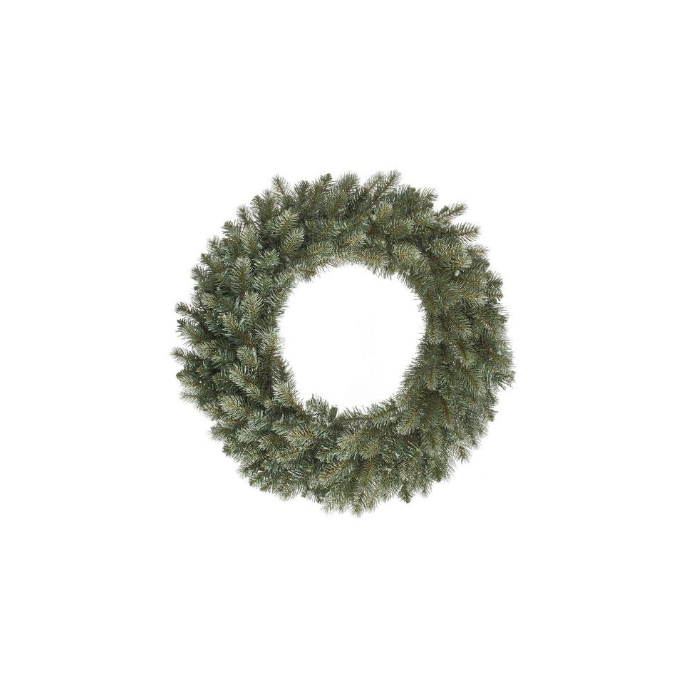48 Colorado Blue Spruce Commercial Artificial Christmas Wreath   Unlit