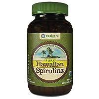 Pure Hawaiian Spirulina-500 mg Tablets 400 Count - Natural Premium Spirulina from...