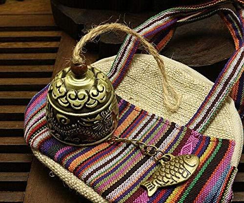 Hpybest Blessing Bell Luck Fish Feng Shui Bell Blessing Good Luck Fortune Wind Chime Dekoanh/änger Drop Versand