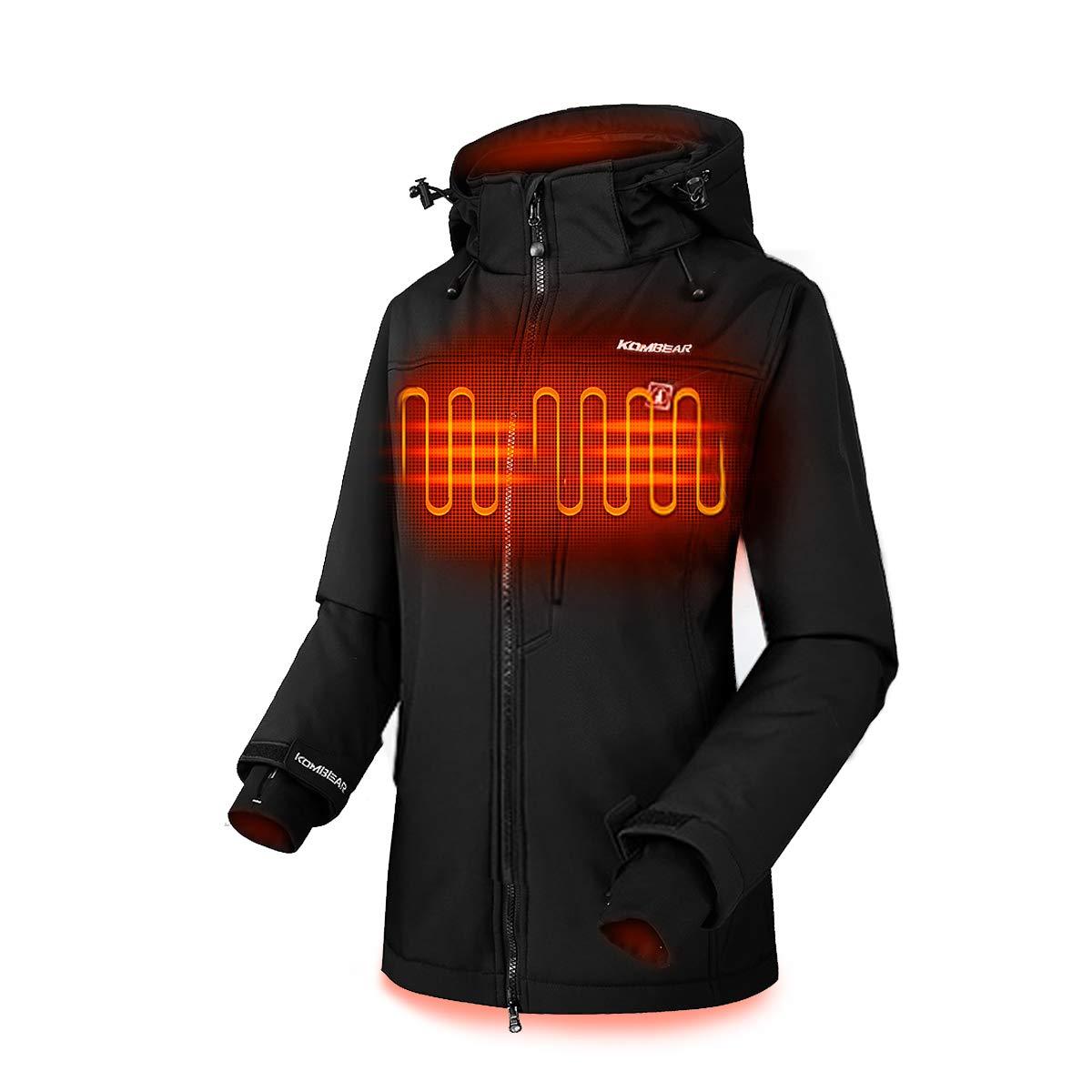 CLIMIX Lightweight Heated Jacket for Women w/7.4v Heated Jacket System & 100% Machine Wash