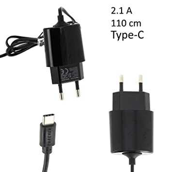Cargador USB Tipo C 2.1A NEGRO Forever Cable Carga Cable ...
