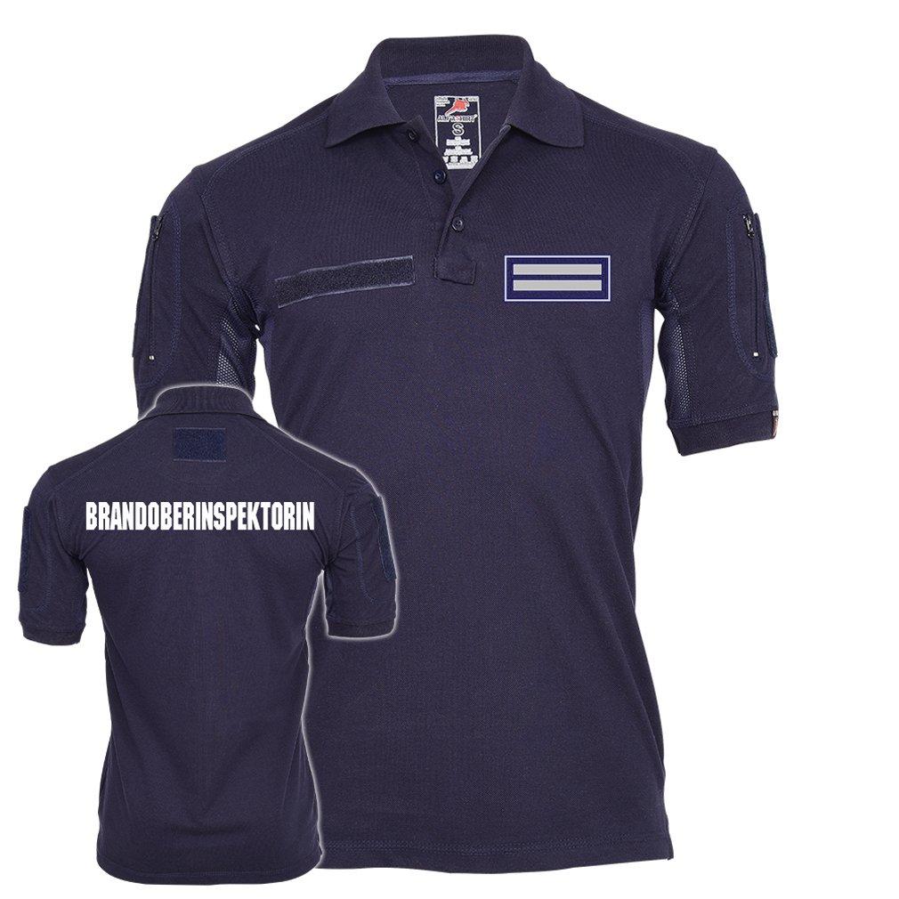 Tactical Polo Shirt Brandoberinspektorin Feuerwehr AtemschutzArbeitskleidung Einheit Truppe Dienstbekleidung  23536