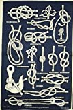 Galley Cloth (Tea Towels) Knots, Bends and Hitches