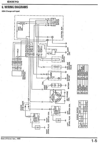 Remarkable Honda Gx670 Wiring Diagram Basic Electronics Wiring Diagram Wiring 101 Cranwise Assnl