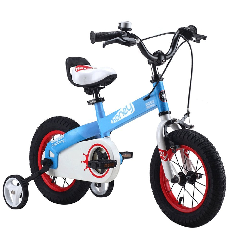 子供用自転車12/14/16インチ2-10歳の少年赤ちゃんの少年自転車学生自転車 (色 : 青, サイズ さいず : 12インチ) B07D4F3PTJ 12インチ|青 青 12インチ