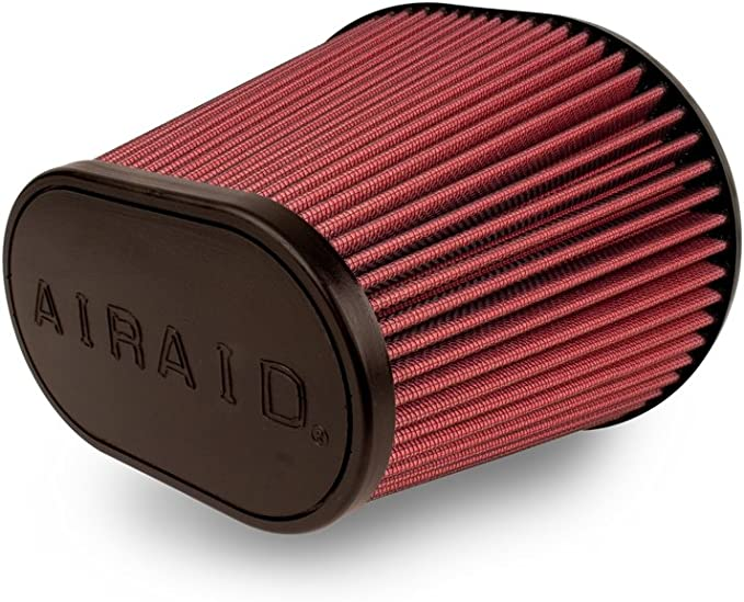 Airaid 700-462 Universal Clamp-On Air Filter: Round Tapered; 6 in Base; 5 in Top 152 mm Flange ID; 7 in Height; 7.25 in 127 mm 178 mm 184 mm