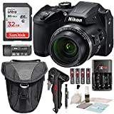 Kyпить Nikon COOLPIX B500 Digital Camera along with 32GB SDHC Memory Card and Deluxe Accessory Bundle with Cleaning Kit на Amazon.com