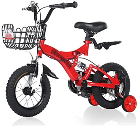 LJJL Pies Ligeros para Bicicletas Boy Girl Bike 2-5-6-7-10 Años De ...