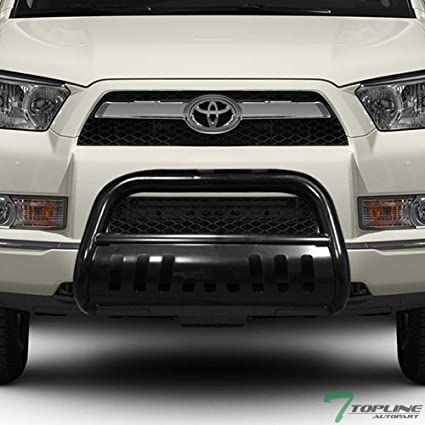 Toyota 4runner Bumper >> Amazon Com Topline Autopart Black Hd Heavyduty Bull Bar Brush Push