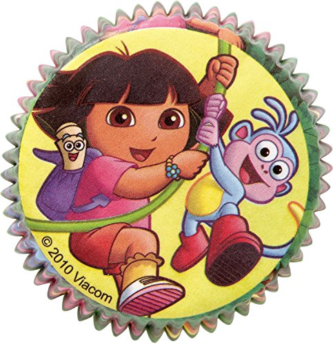 Dora Cupcake Baking Cups (50 Pack) - Party Supplies