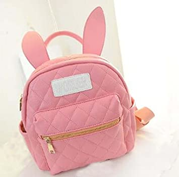 Amazon.com: Fashion Cute Bunny Ears Backpack School Bag Daypack ...