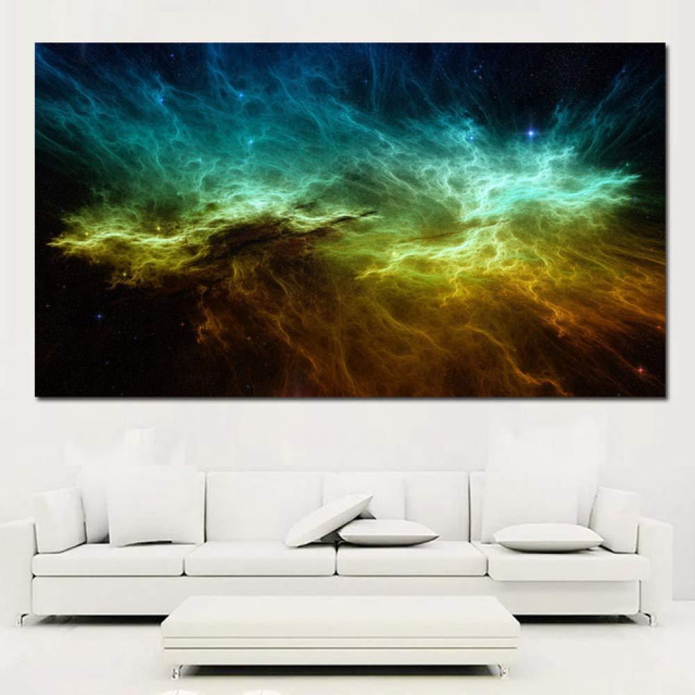 NIMCG Pintura de Lienzo de Arte Pintura Dormitorio y Sala de ...