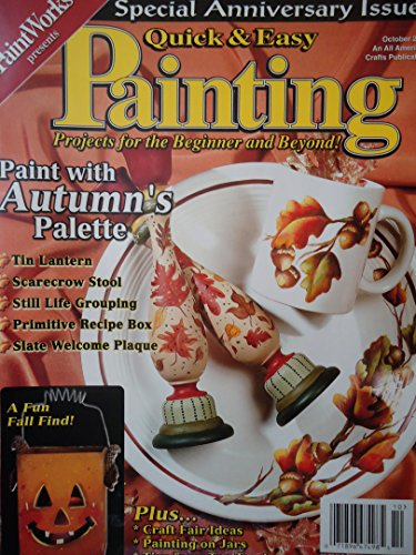 Quick & Easy Painting Magazine October 2001