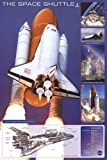 (24x36) The Space Shuttle Educational Poster Print