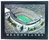 Framed New York Jets Giants Meadowlands Aerial Stadium Print