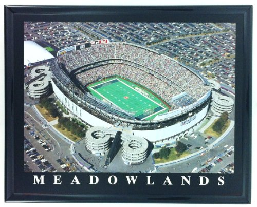 Framed New York Jets Giants Meadowlands Aerial Stadium Print