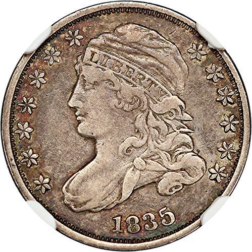 1835 P Bust Dimes Dime 86 NGC - Ngc Dimes