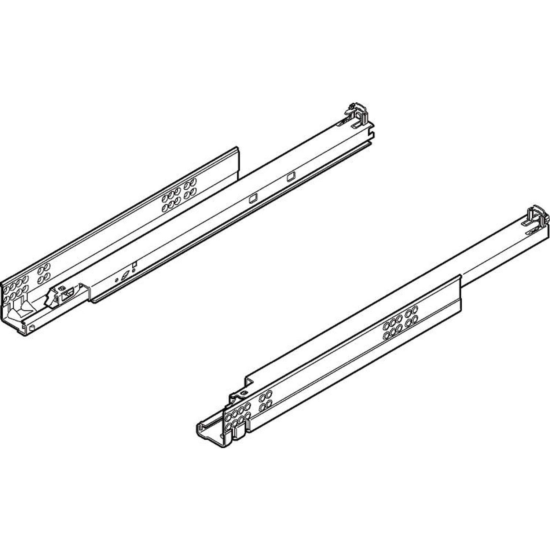 BLUM 6252492 Tandem Plus BLUMOTION Vollauszug, 30 kg, NL=450mm mit Kupplungen, 560H4500B, 450 mm