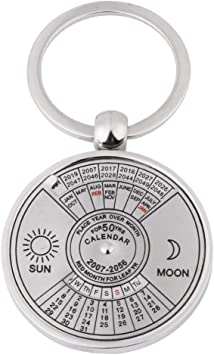 Fashion Car Keychain Silver Color Metal Key Chains Accessory Vintage four seasons Key Rings