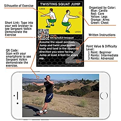 The HIIT Interval Workout Game by Stack 52. Designed by Military Fitness Expert.