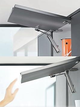 Blum AVENTOS HK-XS Stay Lift 20K1501 Amortiguador Bisagras para Pequeño Compás Abatible Mecanismo de Elevación Para Frentes de Madera y Marcos de Aluminio Resorte Muebles de Cocina Paquete de 1: Amazon.es: Bricolaje