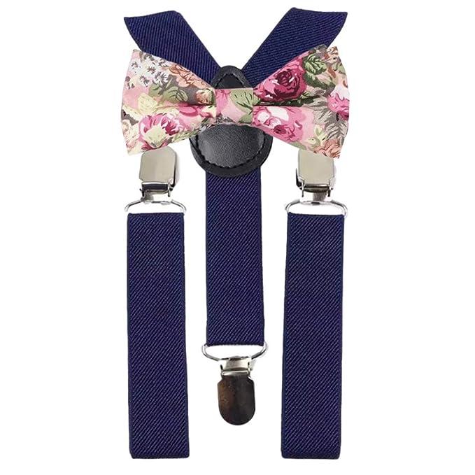 DB Dickie Bow Juego de tirantes y pajarita de algodón con diseño ...