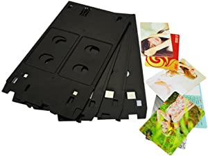 Abbaoww Inkjet PVC Card Tray for Canon J Type Printers - PIXMA MX922 iP7200 iP7230 MG7720 MG7120 MG6350 MG5480 MG5420 MG5400