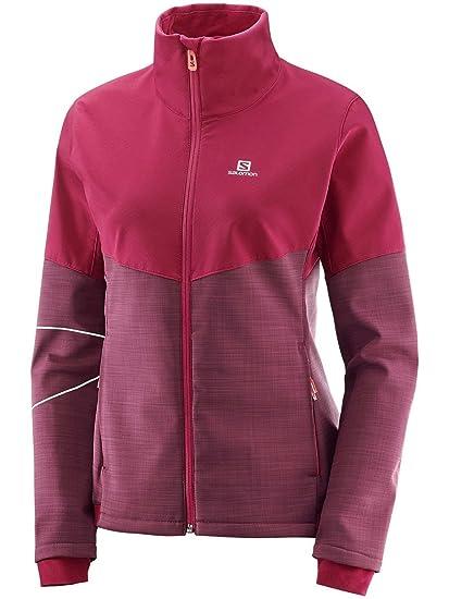 a00e8cbb9fe1 Amazon.com  Salomon Women s Elevate Softshell Jacket  Sports   Outdoors
