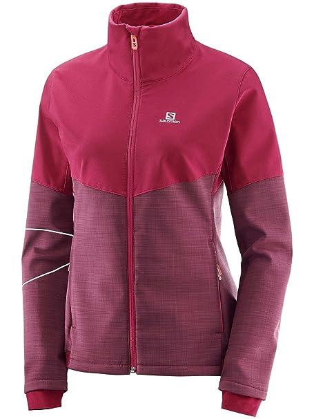 new style 88731 71476 Amazon.com: Salomon Women's Elevate Softshell Jacket: Clothing