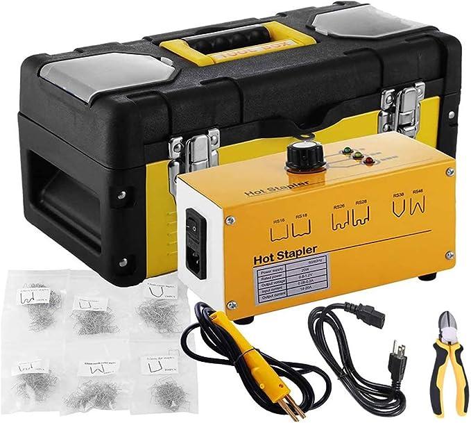 100PC 0.6//0.8mm Hot Stapler Staples For Plastic Welder Car Bumper Repair Kit