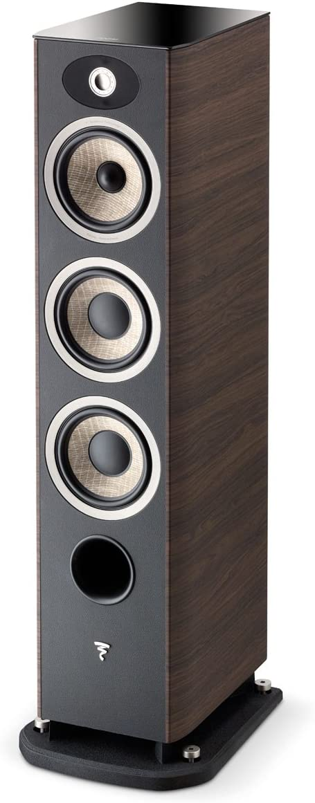 Focal Aria 926 3-Way Bass Reflex Floorstanding Speakers – Pair Dark Walnut