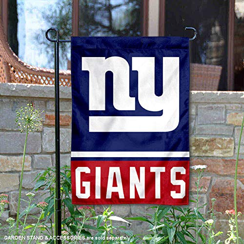WinCraft New York Giants Double Sided Garden Flag