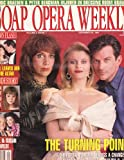 Victoria Wyndham, Judi Evans and Tom Eplin (Another World), Santa Barbara, Hits and Misses of the Year - December 31, 1991 Soap Opera Weekly