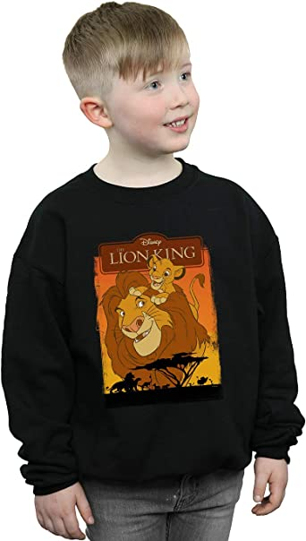 Amazon Com Disney Boys The Lion King Simba And Mufasa Sweatshirt Clothing