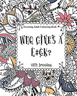 Swearing Adult Colouring Book The Curse