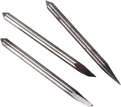 Nrpfell 16Pc 30/45/60 Grados Mimaki Cutting Plotter Cuchillas de Corte de Vinilo + Soporte de Cuchilla Mimaki: Amazon.es: Bricolaje y herramientas