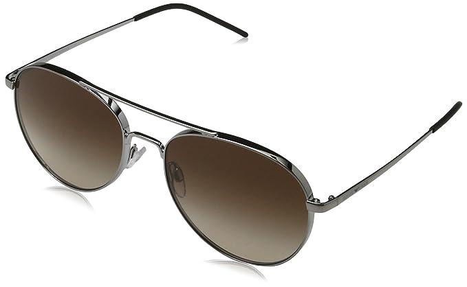f6ad0510f3 Emporio Armani Earmani 4035 Gafas de sol, Gunmetal 301013, 58  Unisex-Adulto: Amazon.es: Ropa y accesorios