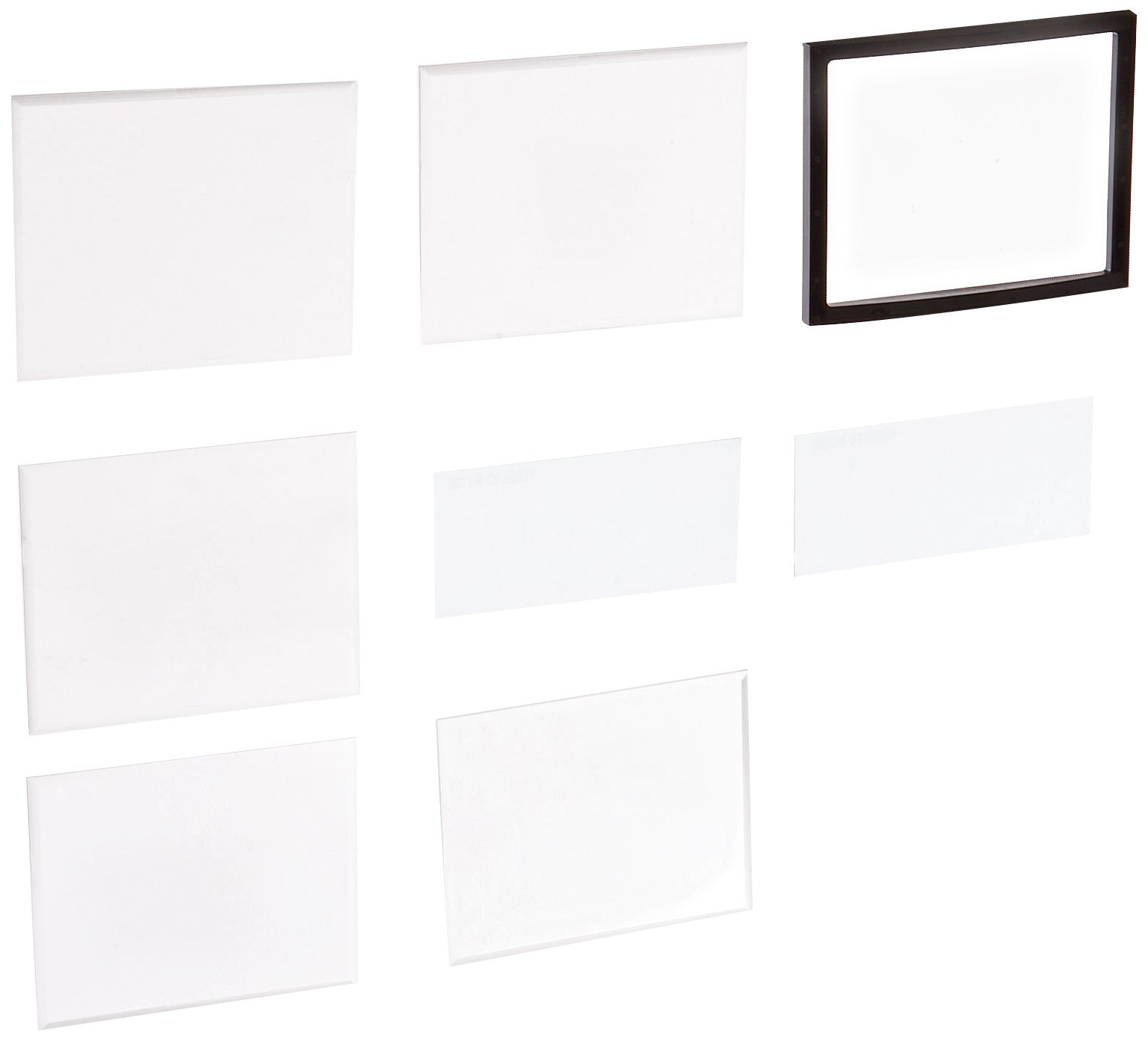 Jackson Safety Welding Clear Safety Plate Nitro 3-Sensor Kit