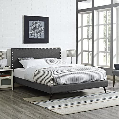 Modway Phoebe King Fabric Platform Bed