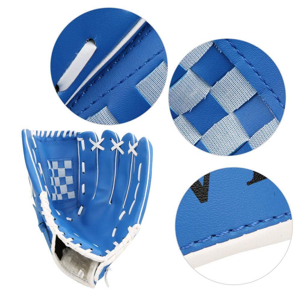 PVC verdicken Baseballhandschuh /übende Trainings Wettbewerbs Handschuhe f/ür Erwachsen Kinder Mootea Sport Baseballhandschuh