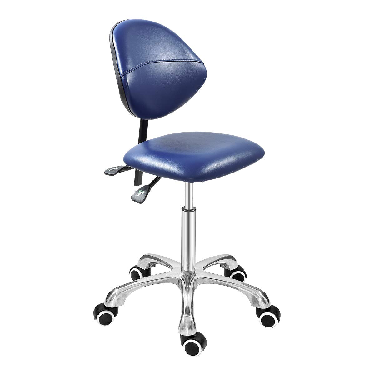 Grace & Grace Professional Office Series Height Adjustable with Ergonomic Tilting Backrest for Drafting,Computer,Studio,Workshop,Classroom, Lab, Counter (Classic, Royal Blue) by Grace & Grace