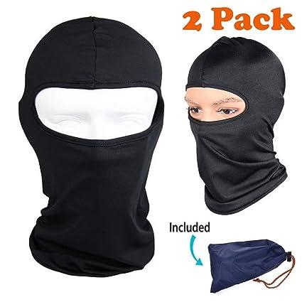 Amazon.com: Máscara de protección facial de Balaclava, ultra ...
