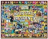 White Mountain Puzzles 1263 US Presidents