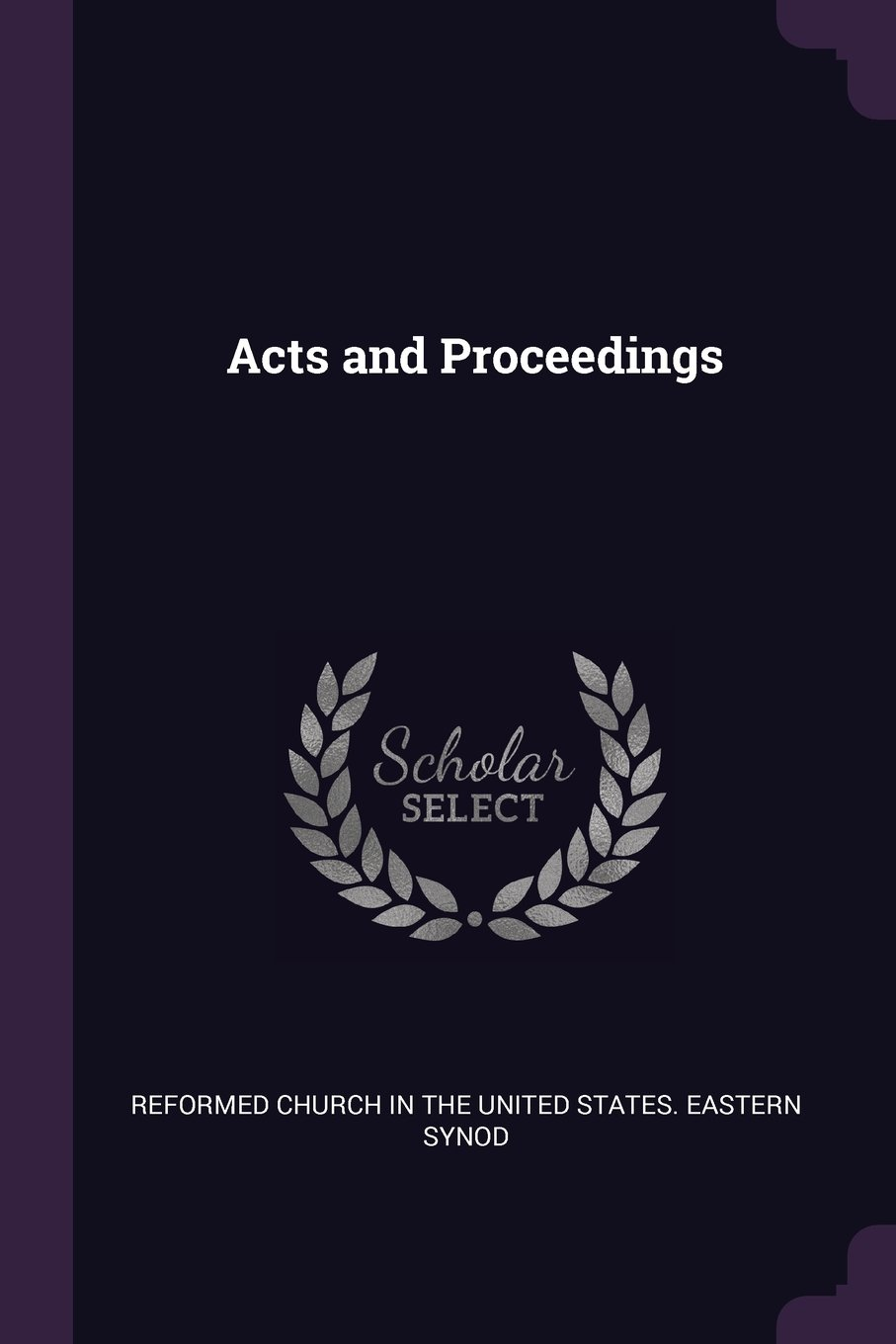 Acts and Proceedings ebook